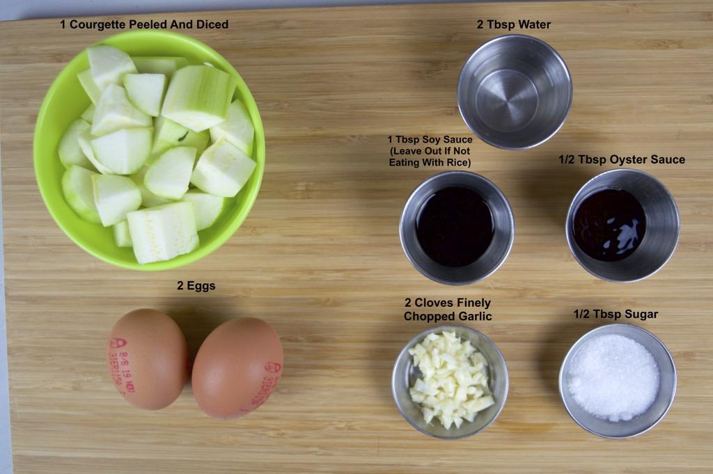 pad buab kai ingredients list