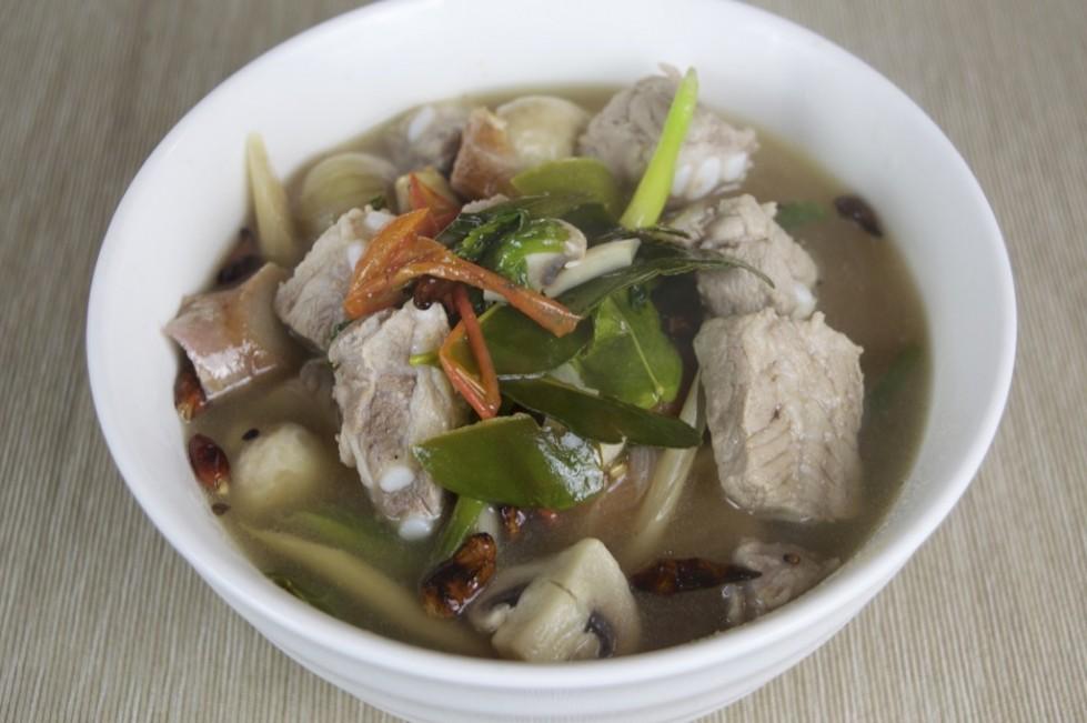 Spicy Spare Rib Soup Recipe
