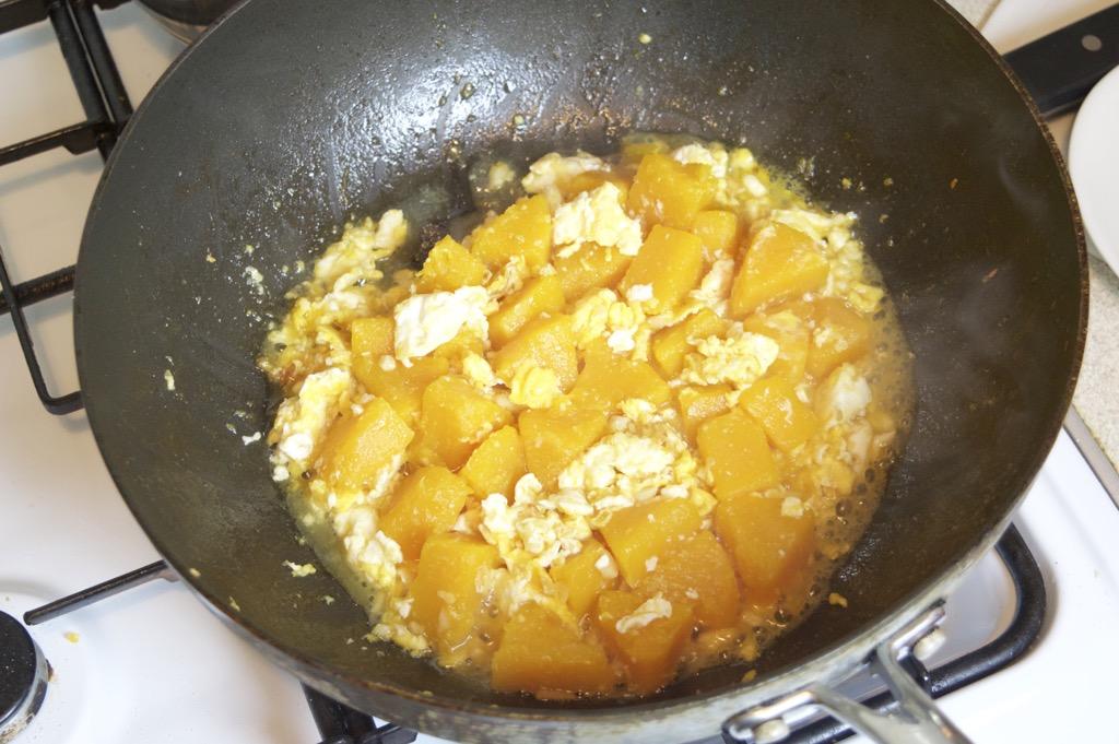 butternut squash stir fry