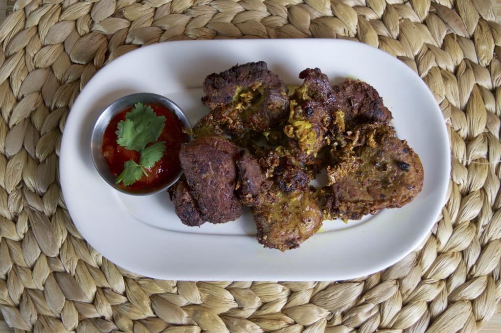 fried turmeric pork fillet