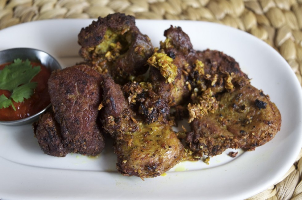 fried turmeric pork recipe