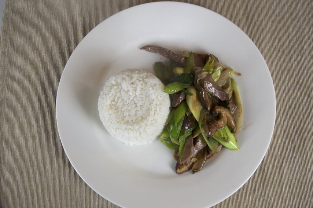 liver and leeks stir fry recipe
