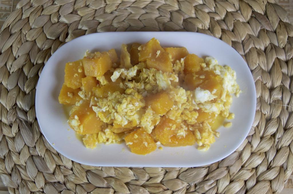 stir fried butternut squash