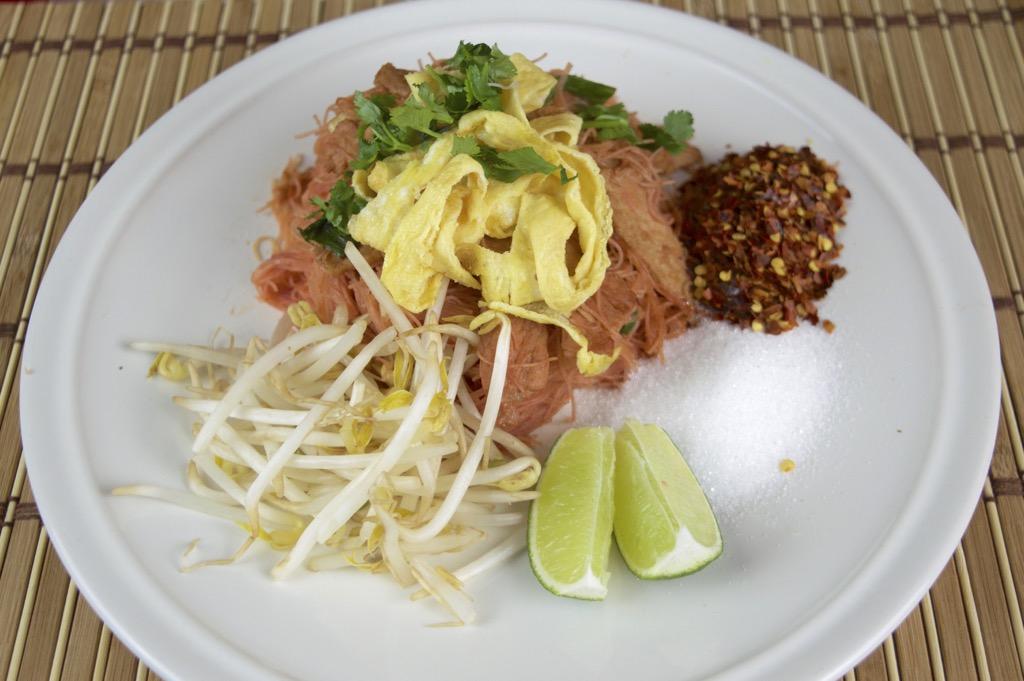thai coconut noodles with pork