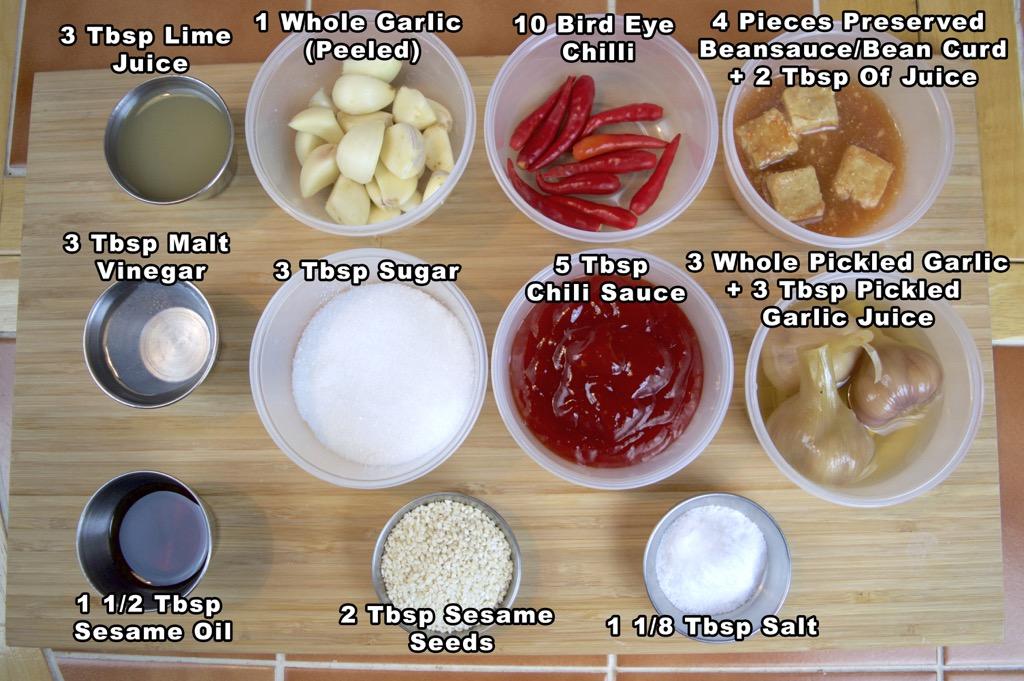 Suki dipping sauce - nam jim suki ingredients list