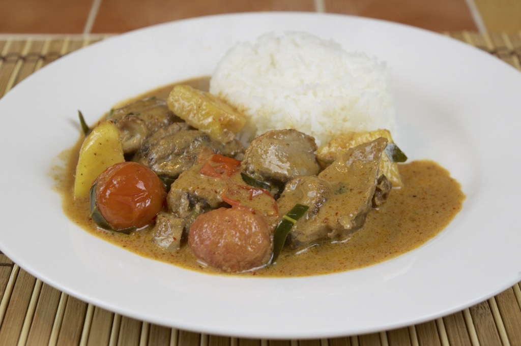 Grilled Duck Curry