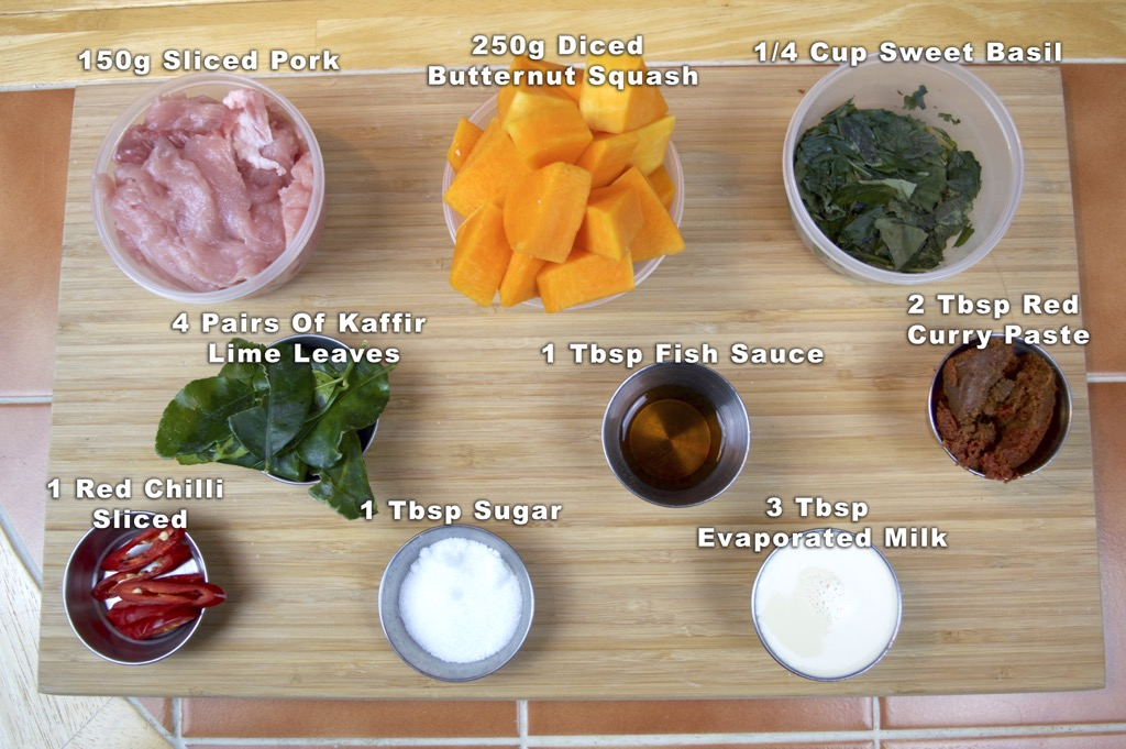 Butternut Squash And Pork Curry Ingredients List copy