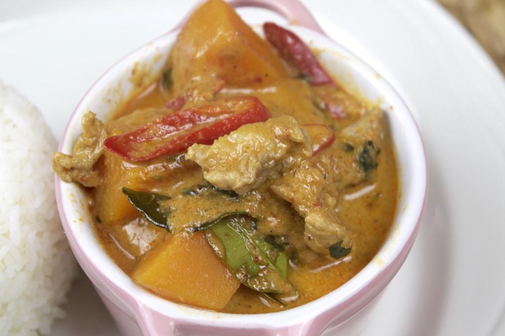 Butternut Squash Pork Curry
