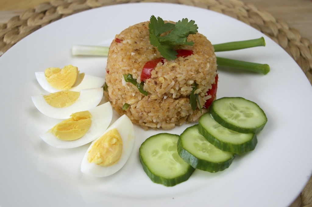 Crab Paste Fried Rice