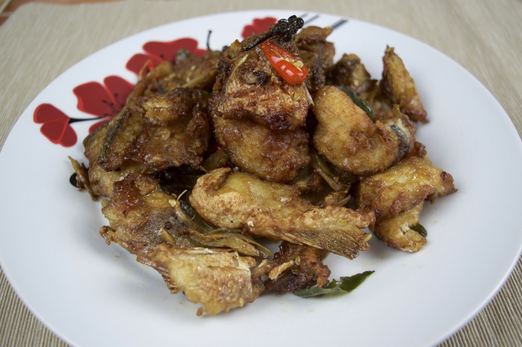 Crispy Fried fish stir fry