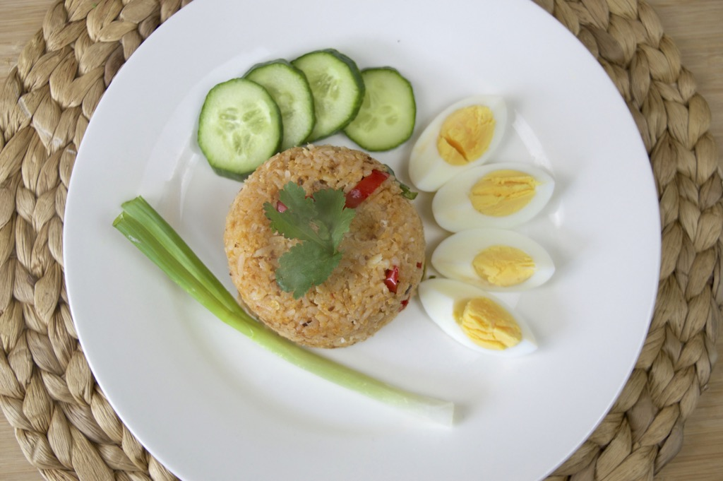 Khao Pad Man Puu Recipe