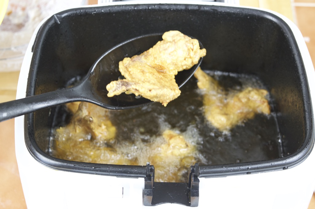 Deep Frying Chicken Wings