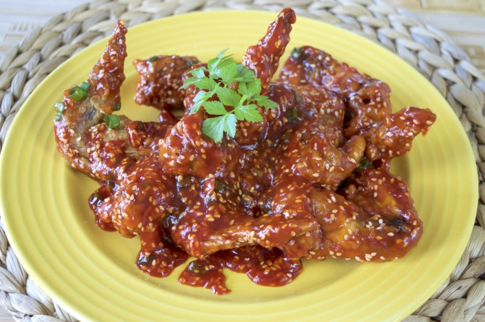 Thai 3 Flavour Fried Chicken Wings