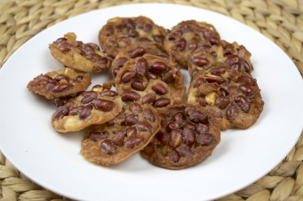 Thai Crispy Fried Peanut Cake